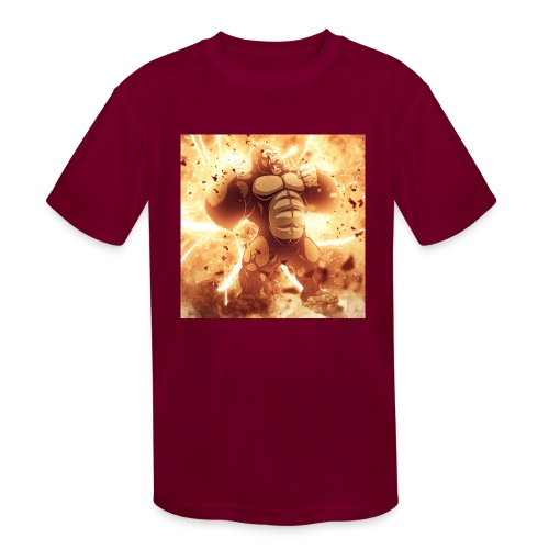 Angry Gorilla Explosion - Kids' Moisture Wicking Performance T-Shirt