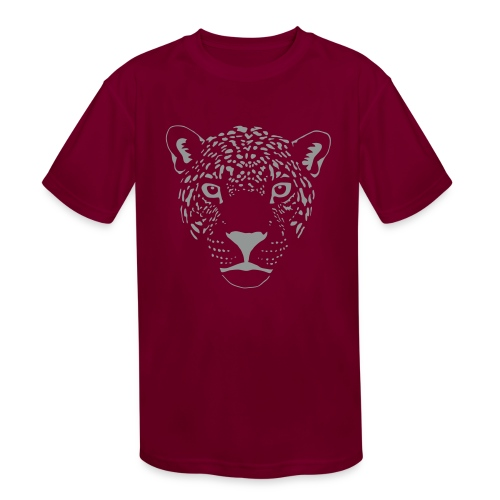 jaguar cougar cat puma panther leopard cheetah - Kids' Moisture Wicking Performance T-Shirt
