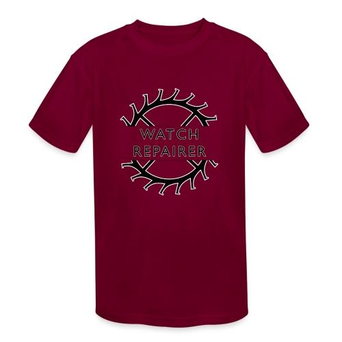 Watch Repairer Emblem - Kids' Moisture Wicking Performance T-Shirt