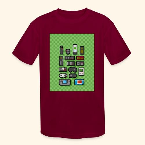 controller handy - Kids' Moisture Wicking Performance T-Shirt