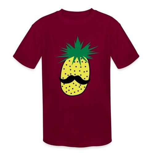 LUPI Pineapple - Kids' Moisture Wicking Performance T-Shirt