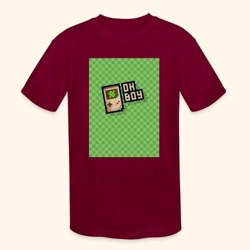 oh boy handy - Kids' Moisture Wicking Performance T-Shirt