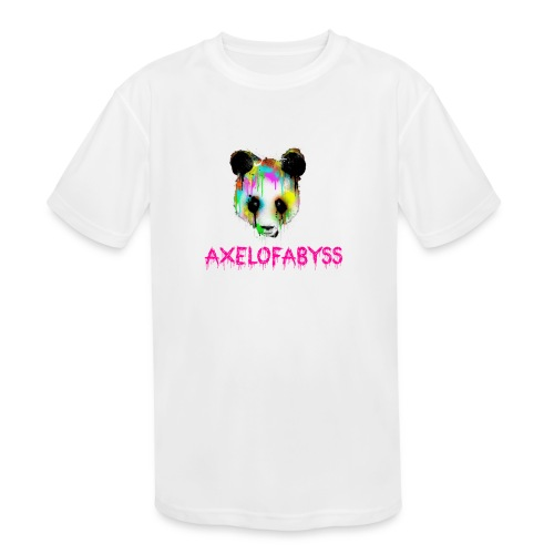 Axelofabyss panda panda paint - Kids' Moisture Wicking Performance T-Shirt