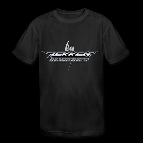 Tekken Maritimes Logo transparent - Kids' Moisture Wicking Performance T-Shirt