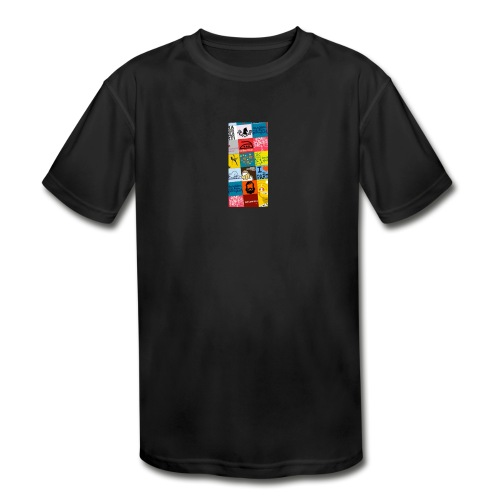 Creative Design - Kids' Moisture Wicking Performance T-Shirt