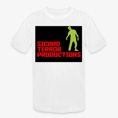 Sicard Terror Productions Merchandise - Kids' Moisture Wicking Performance T-Shirt