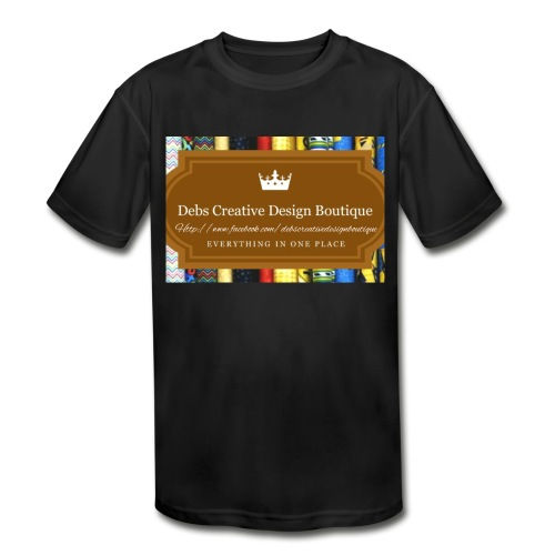 Debs Creative Design Boutique with site - Kids' Moisture Wicking Performance T-Shirt