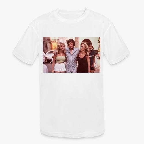 Hugh Hefner - Kids' Moisture Wicking Performance T-Shirt