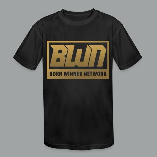 BWN (Gold) - Kids' Moisture Wicking Performance T-Shirt