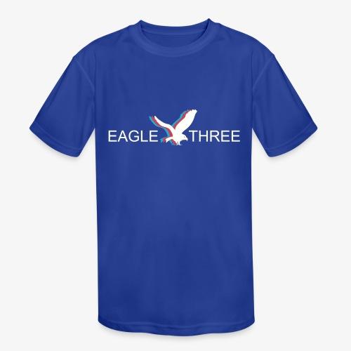 EAGLE THREE APPAREL - Kids' Moisture Wicking Performance T-Shirt