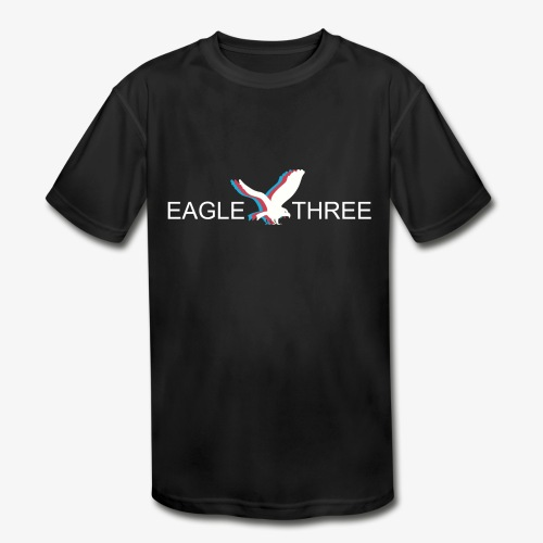 EAGLE THREE APPAREL - Kids' Moisture Wicking Performance T-Shirt