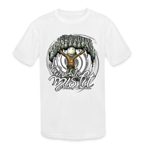 proud to misfit - Kids' Moisture Wicking Performance T-Shirt