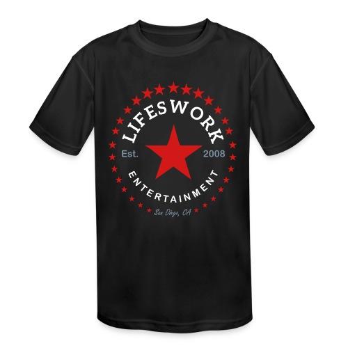 Lifeswork Entertainment - Kids' Moisture Wicking Performance T-Shirt