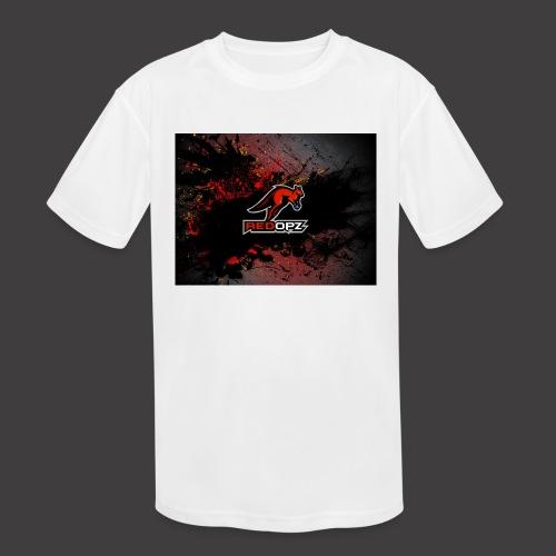 RedOpz Splatter - Kids' Moisture Wicking Performance T-Shirt