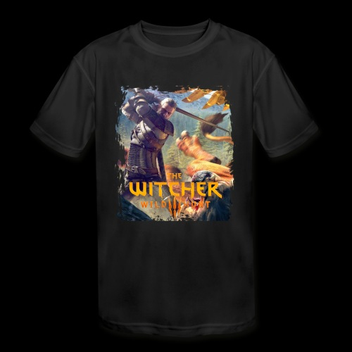 The Witcher 3 - Griffin - Kids' Moisture Wicking Performance T-Shirt