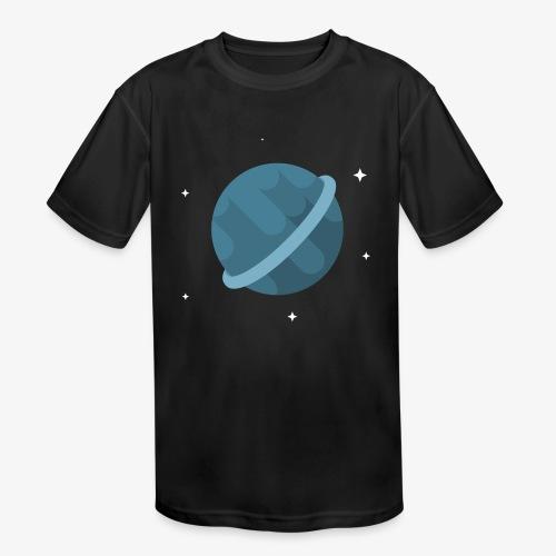 Tiny Blue Planet - Kids' Moisture Wicking Performance T-Shirt
