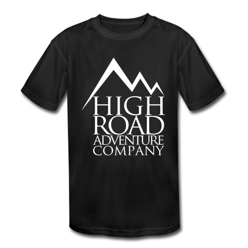 High Road Adventure Company Logo - Kids' Moisture Wicking Performance T-Shirt