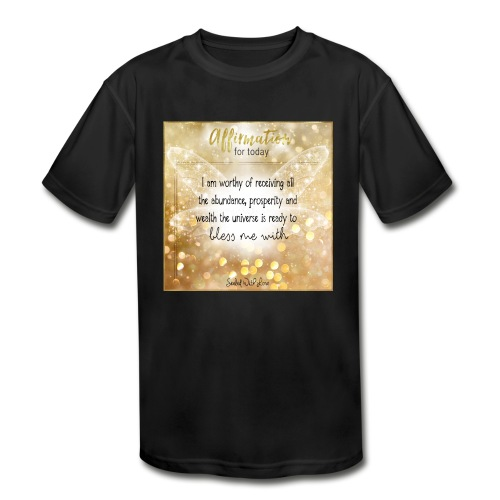 Abundance - Kids' Moisture Wicking Performance T-Shirt