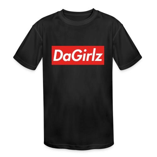 DaGirlz - Kids' Moisture Wicking Performance T-Shirt