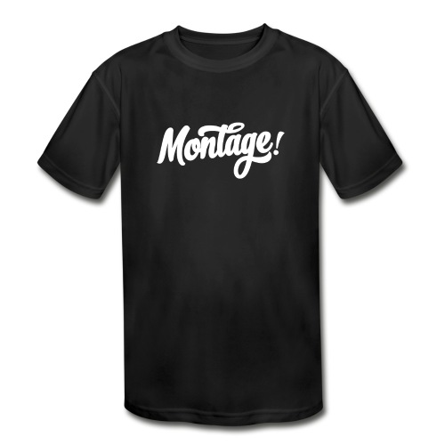 Montage - Kids' Moisture Wicking Performance T-Shirt