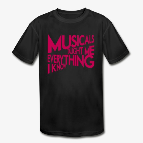MTMEIK Pink Logo - Kids' Moisture Wicking Performance T-Shirt
