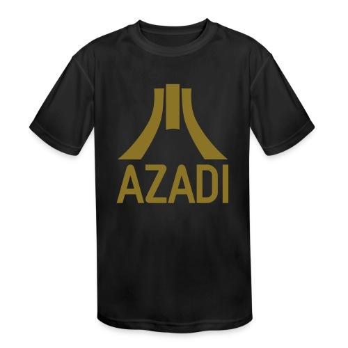Azadi retro stripes - Kids' Moisture Wicking Performance T-Shirt
