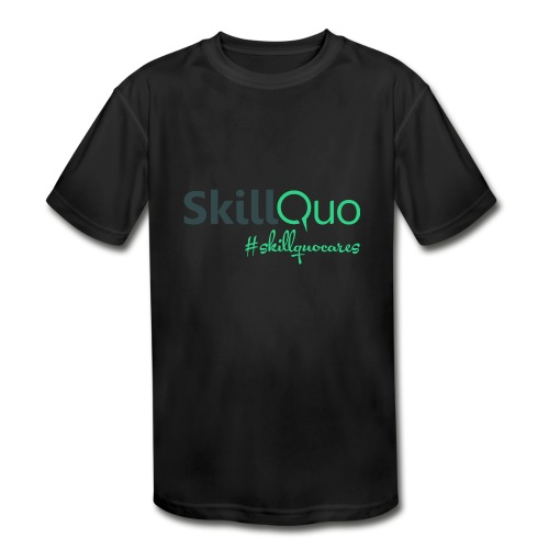 #Skillquocares - Kids' Moisture Wicking Performance T-Shirt