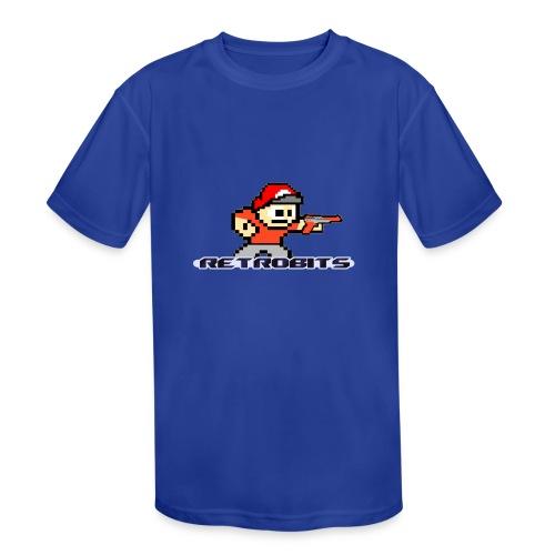 RetroBits Clothing - Kids' Moisture Wicking Performance T-Shirt
