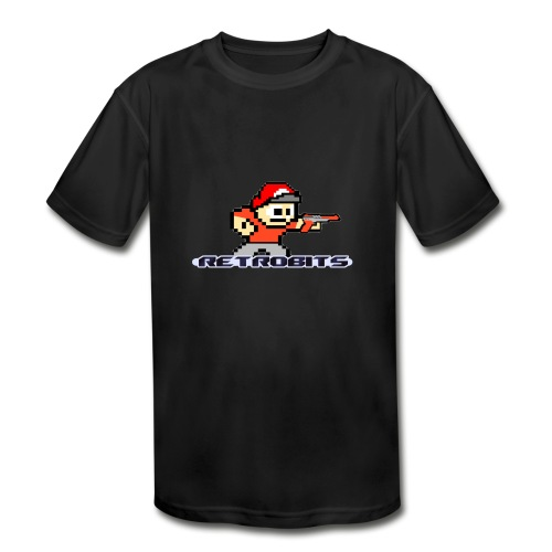 RetroBits Clothing - Kids' Moisture Wicking Performance T-Shirt