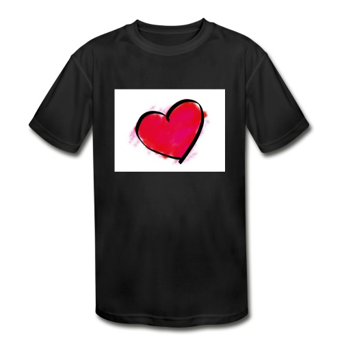 heart 192957 960 720 - Kids' Moisture Wicking Performance T-Shirt