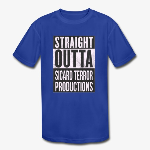 Strait Out Of Sicard Terror Productions - Kids' Moisture Wicking Performance T-Shirt