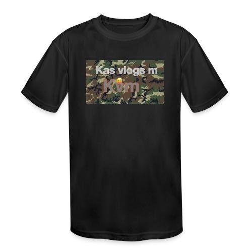 Camo t-shirt - Kids' Moisture Wicking Performance T-Shirt