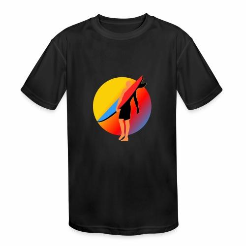 SURFER - Kids' Moisture Wicking Performance T-Shirt