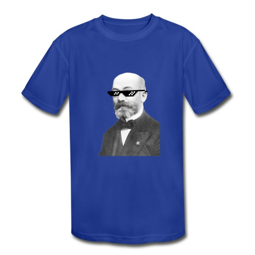 Zamenhof Shades (BW) - Kids' Moisture Wicking Performance T-Shirt