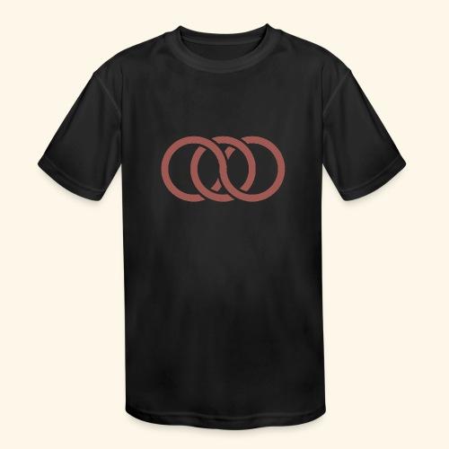 circle paradox - Kids' Moisture Wicking Performance T-Shirt