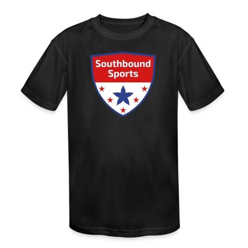 Southbound Sports Crest Logo - Kid's Moisture Wicking Performance T-Shirt