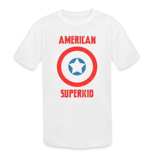 American Superkid - Kids' Moisture Wicking Performance T-Shirt