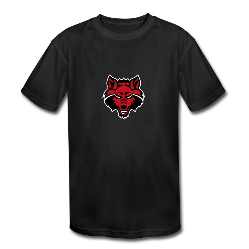 Red Wolf - Kids' Moisture Wicking Performance T-Shirt