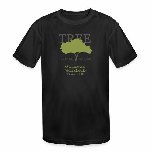 Tree Reading Swag - Kids' Moisture Wicking Performance T-Shirt