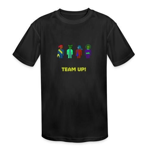 Spaceteam Team Up! - Kids' Moisture Wicking Performance T-Shirt