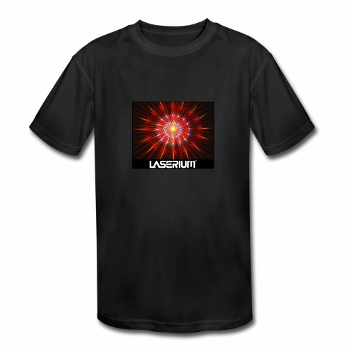 LASERIUM Laser starburst - Kids' Moisture Wicking Performance T-Shirt