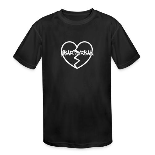 HeartBreak - Kid's Moisture Wicking Performance T-Shirt