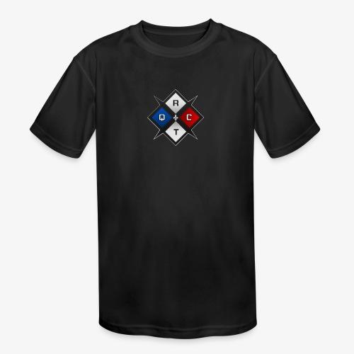 RTQC Logo - Kids' Moisture Wicking Performance T-Shirt
