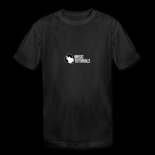 Music Tutorials Logo - Kids' Moisture Wicking Performance T-Shirt