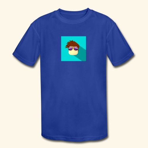 NixVidz Youtube logo - Kids' Moisture Wicking Performance T-Shirt