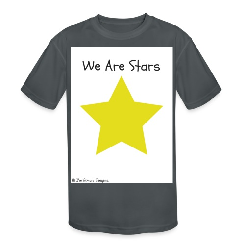 Hi I'm Ronald Seegers Collection-We Are Stars - Kids' Moisture Wicking Performance T-Shirt