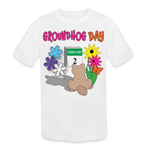 Groundhog Day Dilemma - Kids' Moisture Wicking Performance T-Shirt