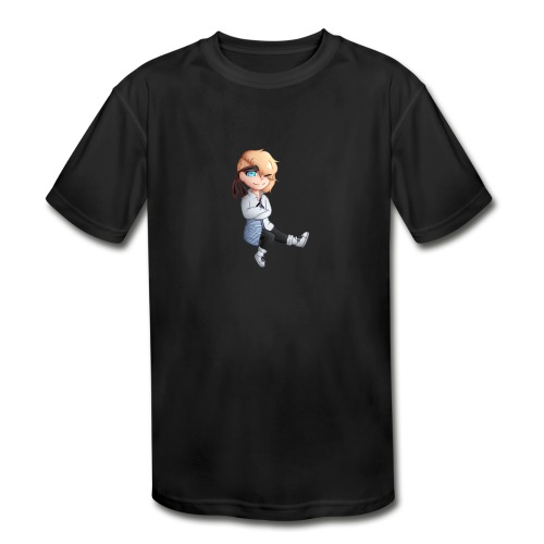 Martial Art Master Waifu Pancakes - Kids' Moisture Wicking Performance T-Shirt