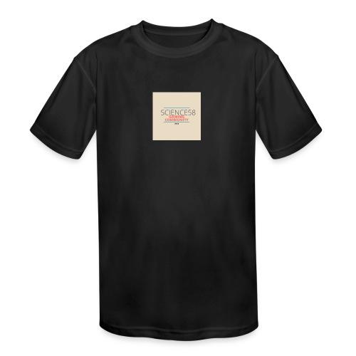 Science58 - Kid's Moisture Wicking Performance T-Shirt