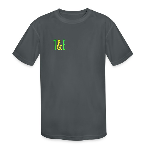 Official Youth T-shirt T&E - Kid's Moisture Wicking Performance T-Shirt